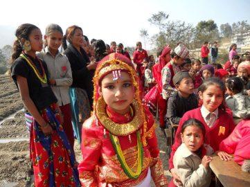 January: Palubari, Nepal