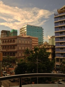 View from my in Dar es Salaam