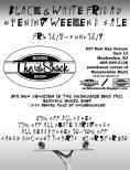2012 Black Friday promo flyer