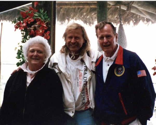 Peter Nygard And George Bush Sr