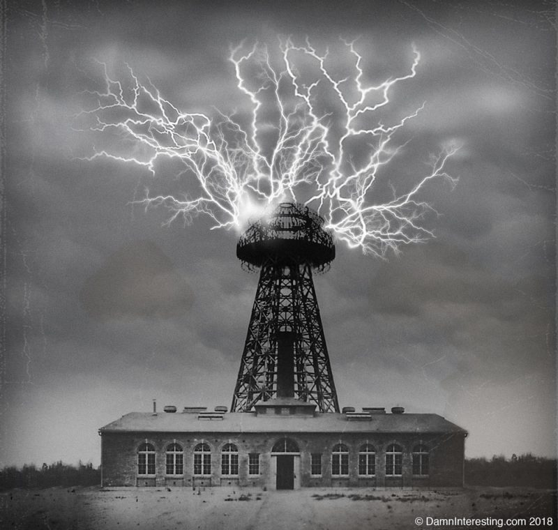 Nikola Tesla Wireless Tower