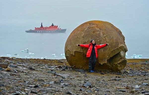 Mysterious Stone Spheres Arctic Island 10