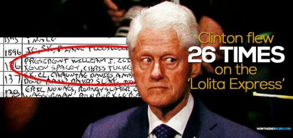 Bill Clinton On Lolita Express