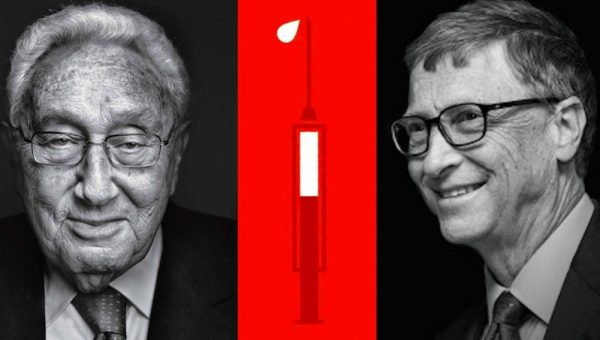 Henry Kissinger & Bill Gates Call For Mass Vaccination & Global Governance