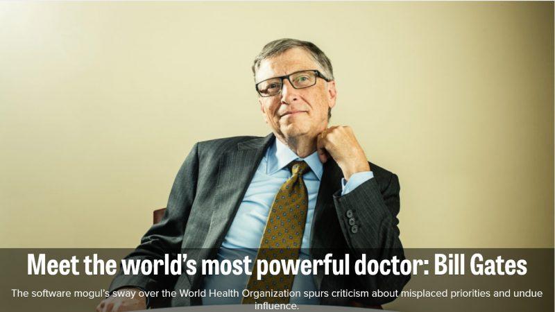 Politico Bill Gates
