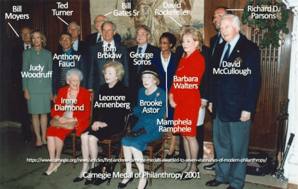 Photos Image Surfaces Oof Dr Fauci With George Soros Bill Gates Sr David Rockefeller More