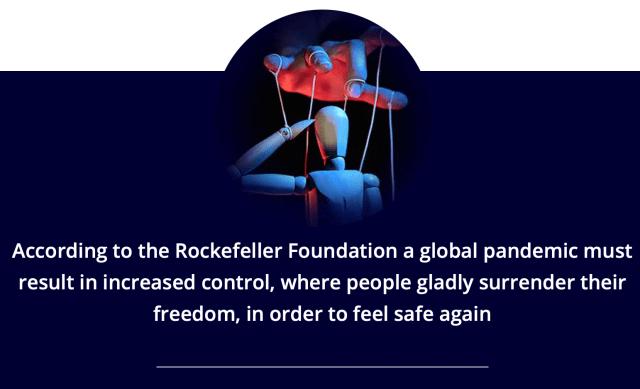 Rockefeller Foundation - coronavirus NWO