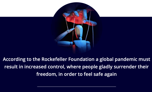 Fundația Rockefeller - coronavirus NWO