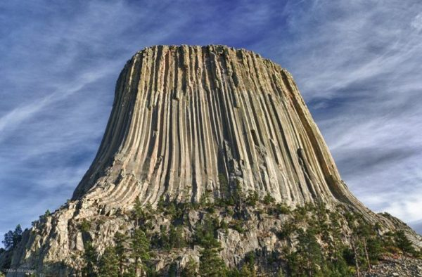 Devil's Tower, Wyoming Close Up