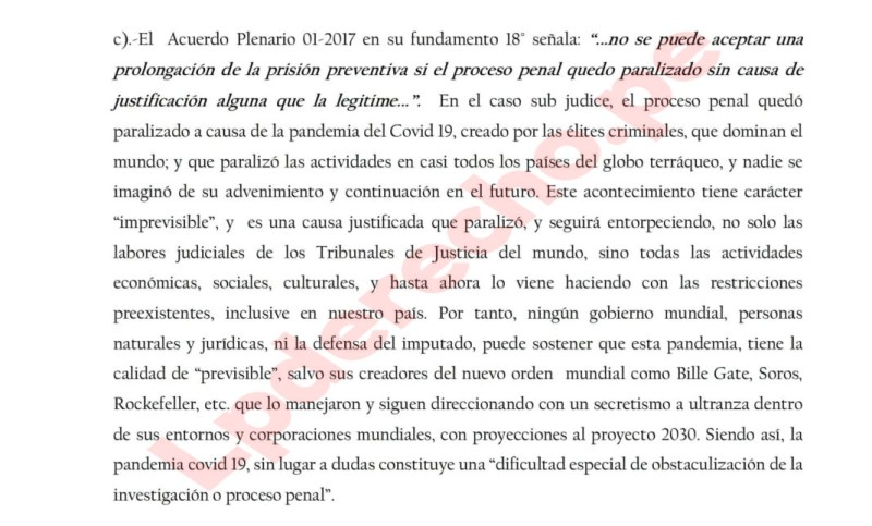 court in peru rules covid 19 pandemic started by billgates2cgeorgesorosandrockefeller