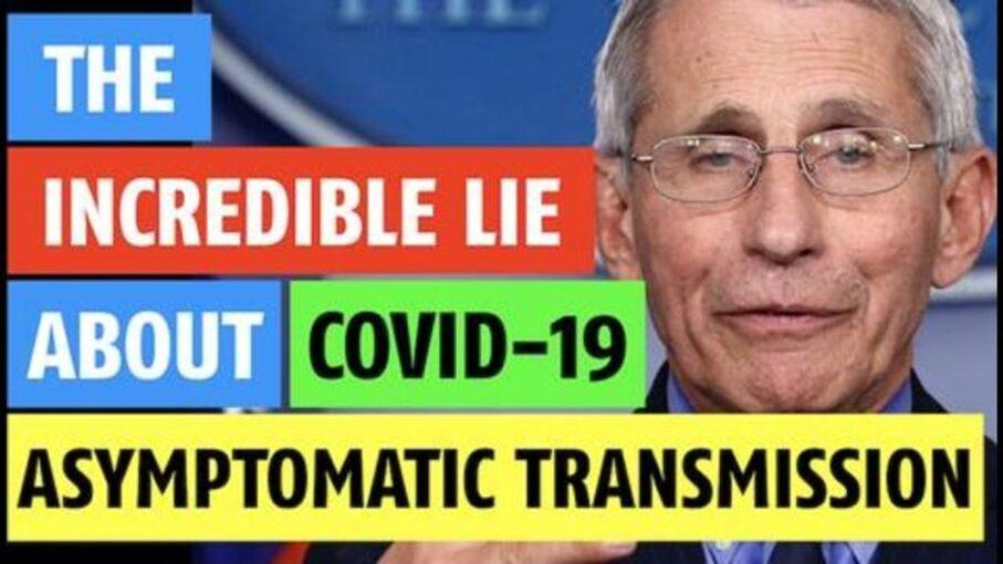 asymptomatic spread lie
