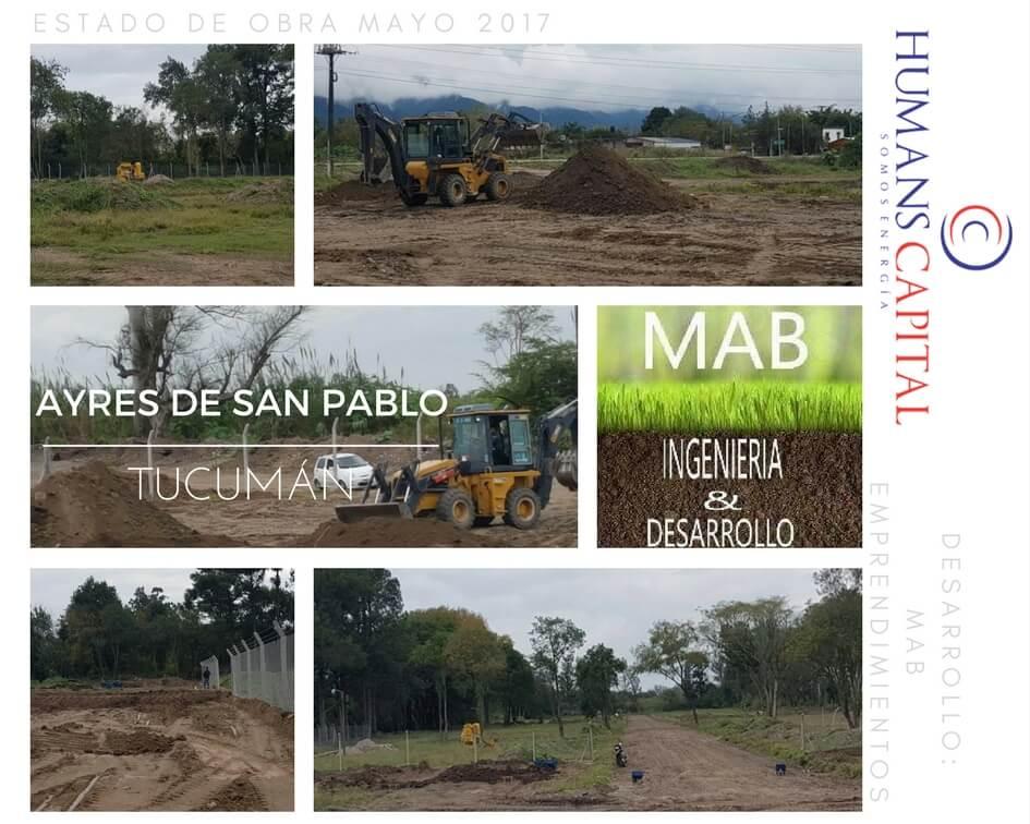 Ayres de San Pablo - Estado mayo 2017