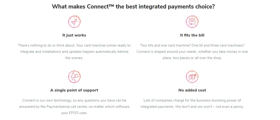Connect is a integration cloud between credit card terminal and EPOS