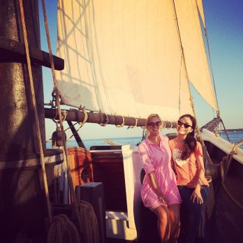 Ingkar sailing in the USA (from personal archive)