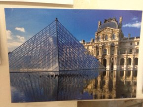 Postcard brought from Paris, France