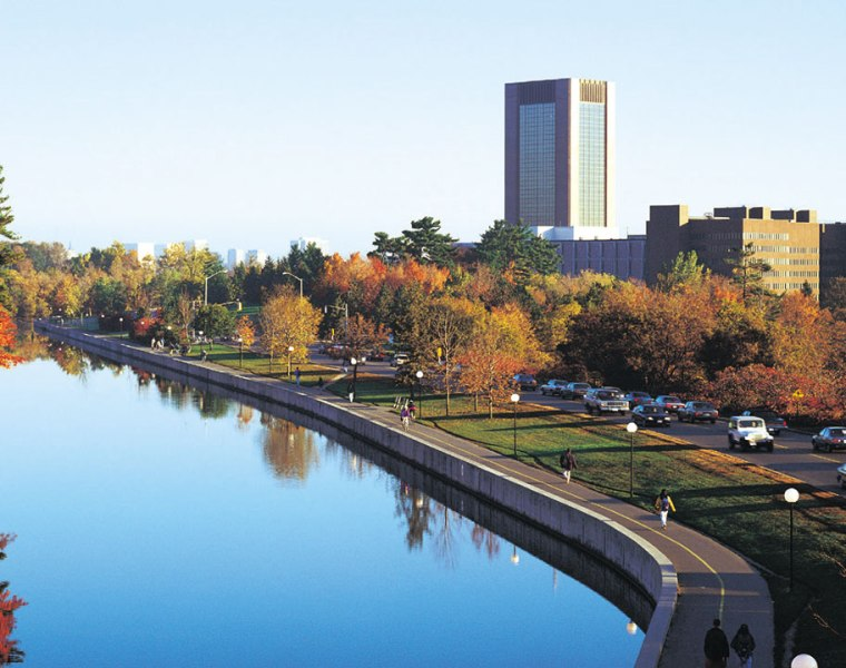 Carleton University Campus view