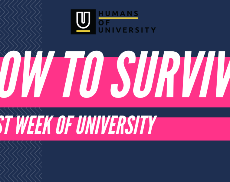 How to survive first week of university