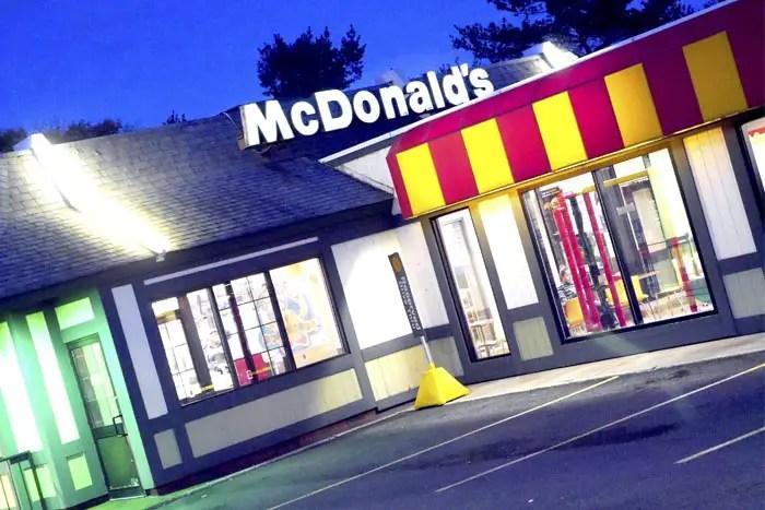 suny new paltz McDonald's