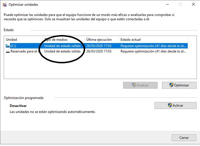 Cómo saber si mi disco duro es SSD sin tener que desarmar el ordenador.