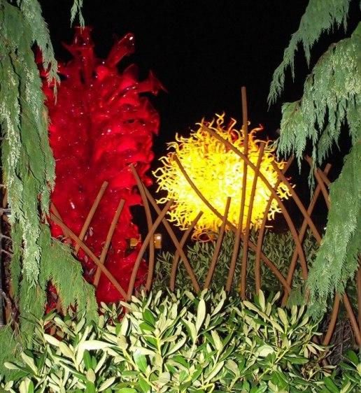 Chihuly Glass Garden, Seattle, WA