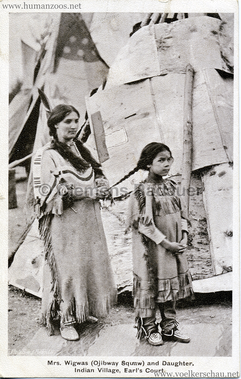 1905 Earl S Court Indian Village Human Zoos