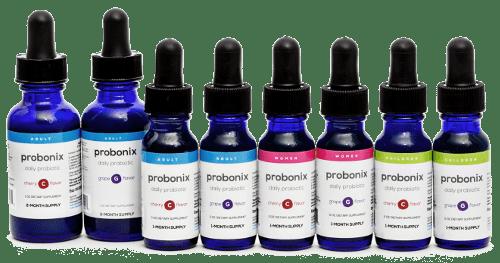 How Probiotics Work - Probonix 2 months, Probonix 1 month, Children's Probiotic, Women's Weight Loss Formula