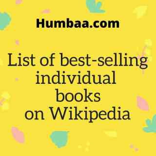 List of best-selling individual books