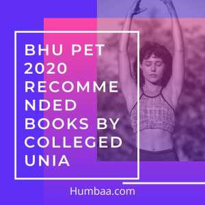 BHU PET 2020 Recommended Books by Collegedunia
