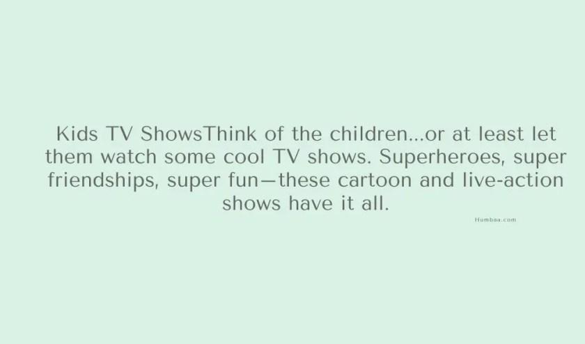 Netflix Kids Shows