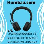 Jabra Evolve2 65 Bluetooth headset review on Humbaa (1)