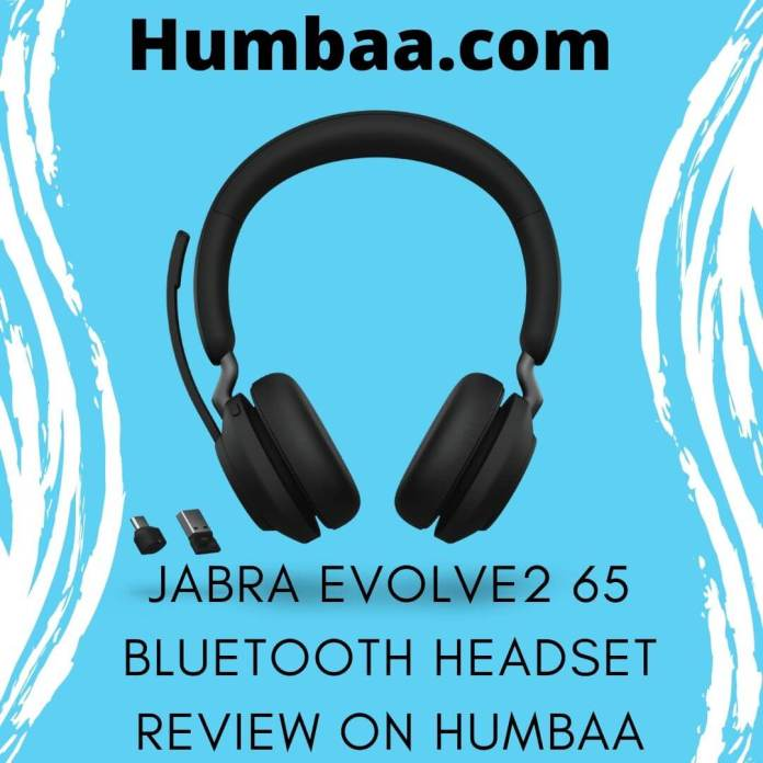 Jabra Evolve2 65 Bluetooth headset review on Humbaa (1)