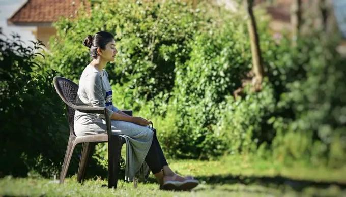 Sai Pallavi doing meditaion - humbaa