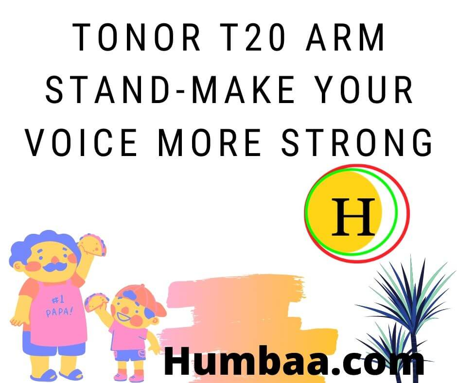 TONOR T20 Arm Stand-Make Your Voice More Strong