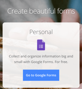 Customize according to need at personal section.
