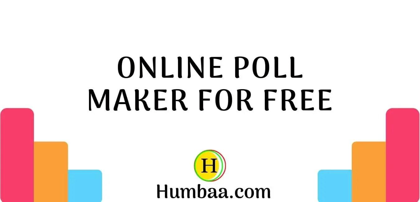 Online Poll Maker For Free