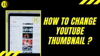 How to change youtube thumbnail