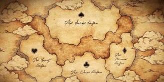 Black Clover World Map.