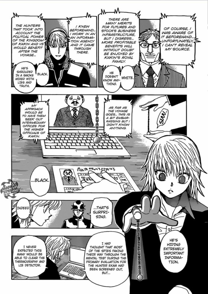 Kurapika using Emperor time