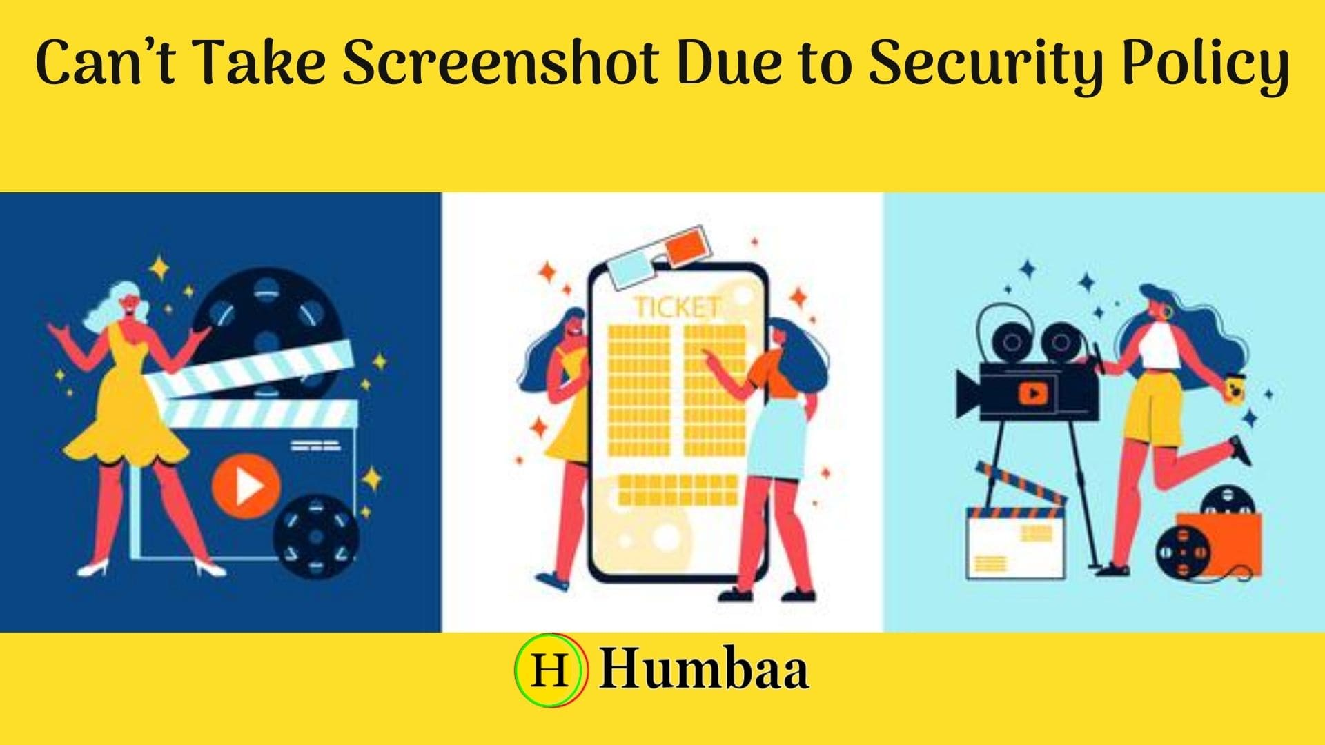 Can't Take Screenshot Due to Security Policy
