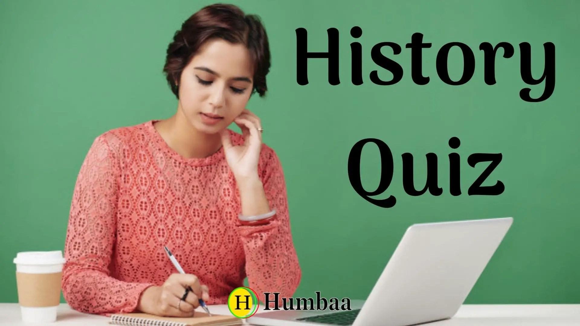 history quiz 2