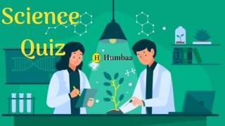 Science quiz 1