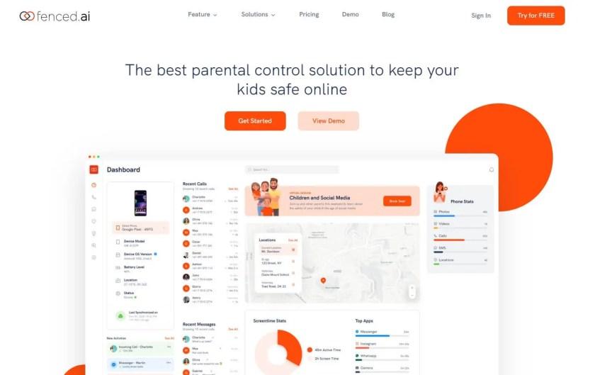 Fenced.ai - Best Parental Control App
