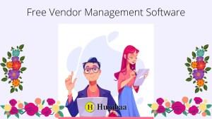 free vendor management software