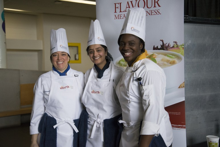 Sandwich cook-off has Humber students competing for cash prize
