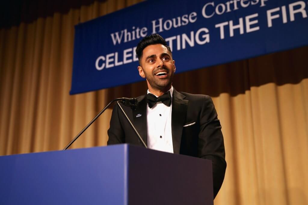 The Daily Show's Hasan Minhaj speaks at Humber