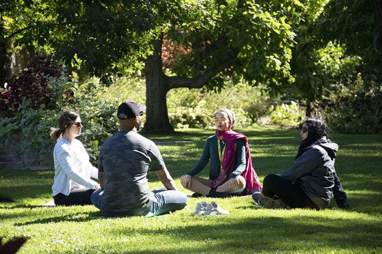 Nature RX explores natural mindfulness at Humber's Arboretum