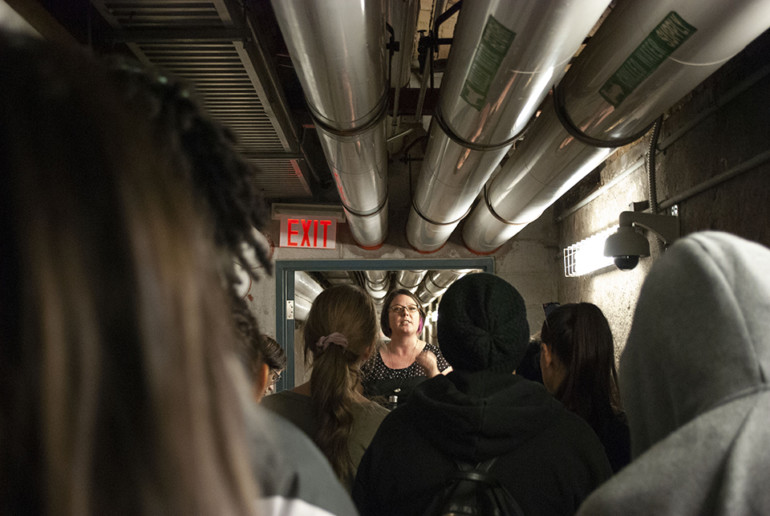Lakeshore's underground tunnels show it's roots as an asylum