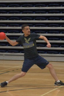Extramural coed dodgeball gives students fun way to stay healthy