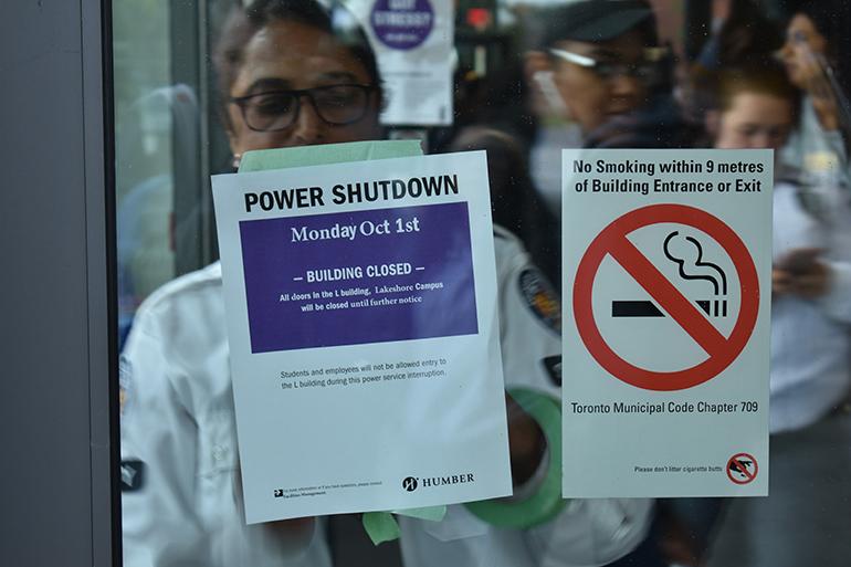 Power outage shocks Lakeshore