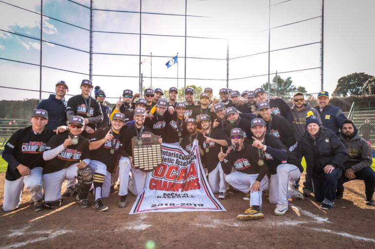 Varsity men's baseball team makes OCAA history